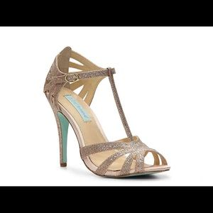 Blue by Betsey Johnson Tee Sandal- Available 3/27